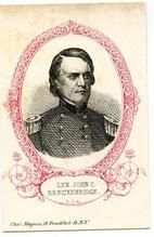 07x121.22 - General John C. Breckenridge C. S. A., Civil War Portraits from Winterthur's Magnus Collection